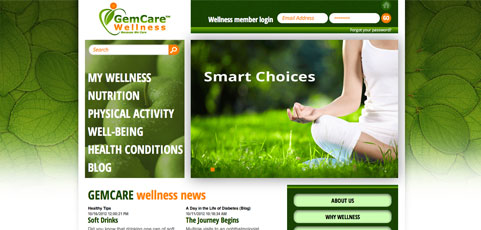 GemCare Wellness Site Goes Live