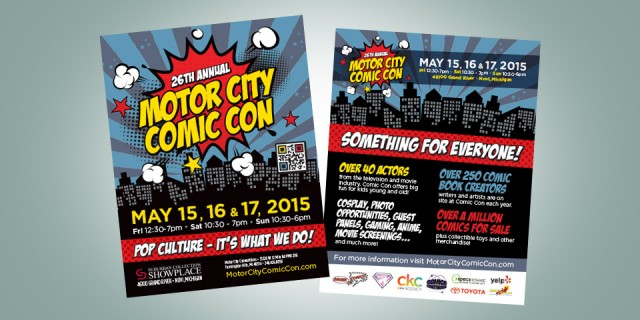 Motor City Comic Con Goes Boom!