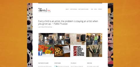 Space 208 Art Gallery Site Goes Live