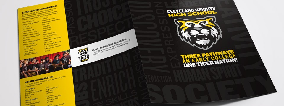 Tiger Nation Marketing Folder & Insert Sheets